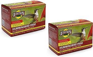 Audubon Park 1661 Hummingbird Food Nectar Powder, 2 Pack (Total 18 oz)