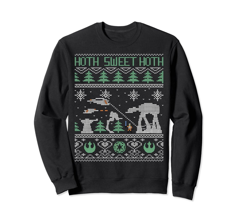 Amazon.com: Star Wars Hoth Sweet Hoth Ugly Christmas Sweater ...
