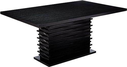 Stanton Rectangular Dining Table Black