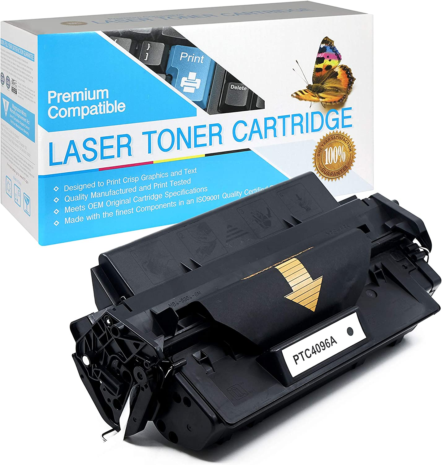 SuppliesOutlet Compatible Toner Cartridge Replacement for HP 96A / C4096A (Black,1 Pack)