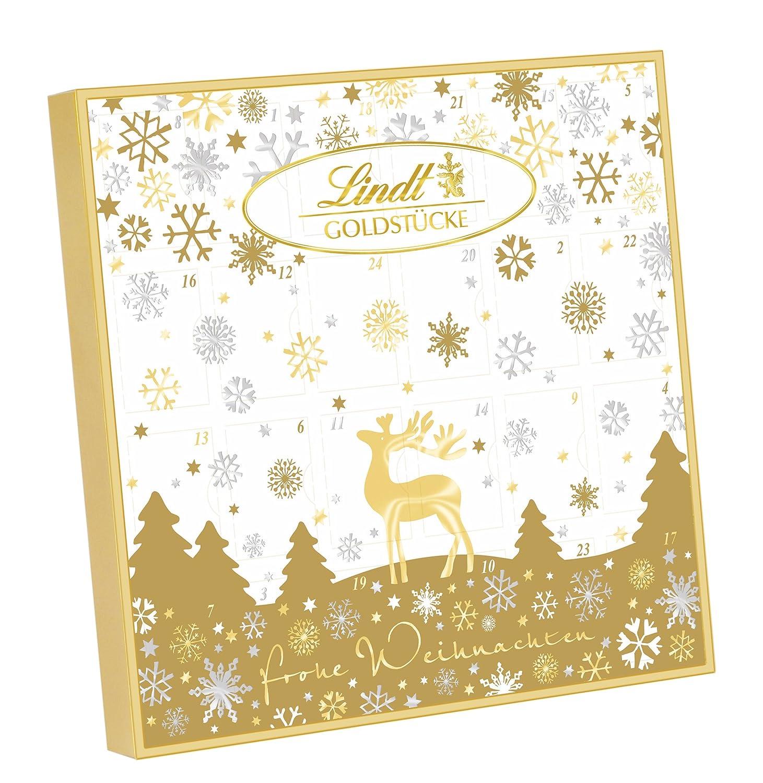 lindt spr ngli goldst cke adventskalender 1er pack 1 x 156 g ebay. Black Bedroom Furniture Sets. Home Design Ideas