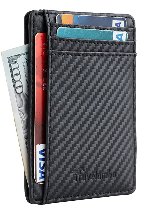 Travelambo Mens WalletBlack Friday Deal 2020