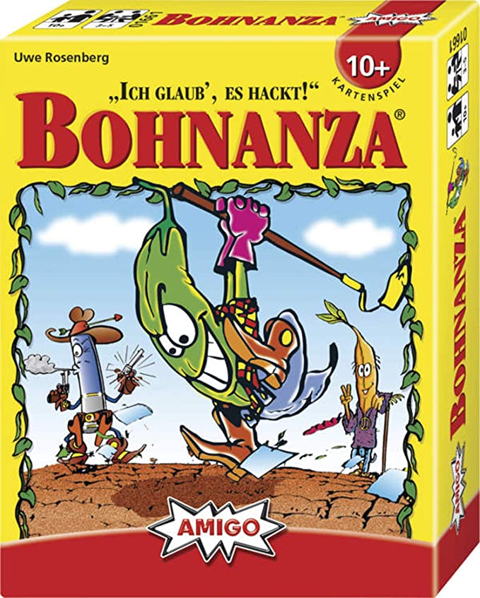 Amigo 01661 Bohnanza, Juego de mesa (en idioma alemán) , Modelos/colores Surtidos, 1 Unidad: Rosenberg, Uwe: Amazon.es: Juguetes y juegos