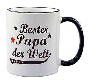 Tasse Bester Papa Der Welt Vintage Style Geschenk Vater