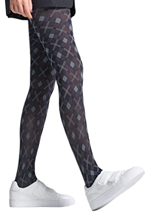 f1bb4d10aae06 Jonathan Aston Blake Diamond Pattern Tights-A (Small)-Black: Amazon.co.uk:  Clothing