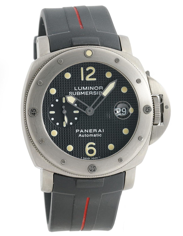 Officine Panerai Luminor automatic-self-wind Mens Reloj Pam 25 _ (Certificado) de segunda mano: Officine Panerai: Amazon.es: Relojes