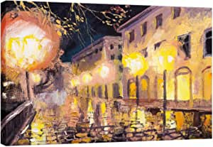 Bohemia Printed Painting on canvas cotton with inner frame - 60X90 cm - 2724827448323