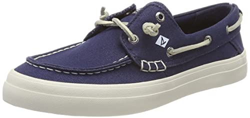 Crest Resort Washed Can. Navy, Womens Boat Sperry Top-Sider