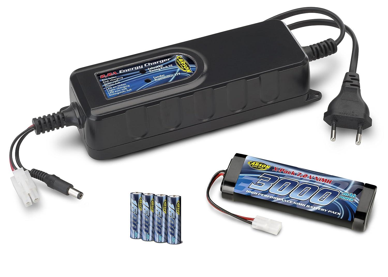 Carson 500606046 - Akku-Ladeset 2A/200 mA/Reflex Pro