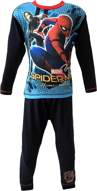 Kids Boys Spiderman Homecoming Character Marvel Pyjamas