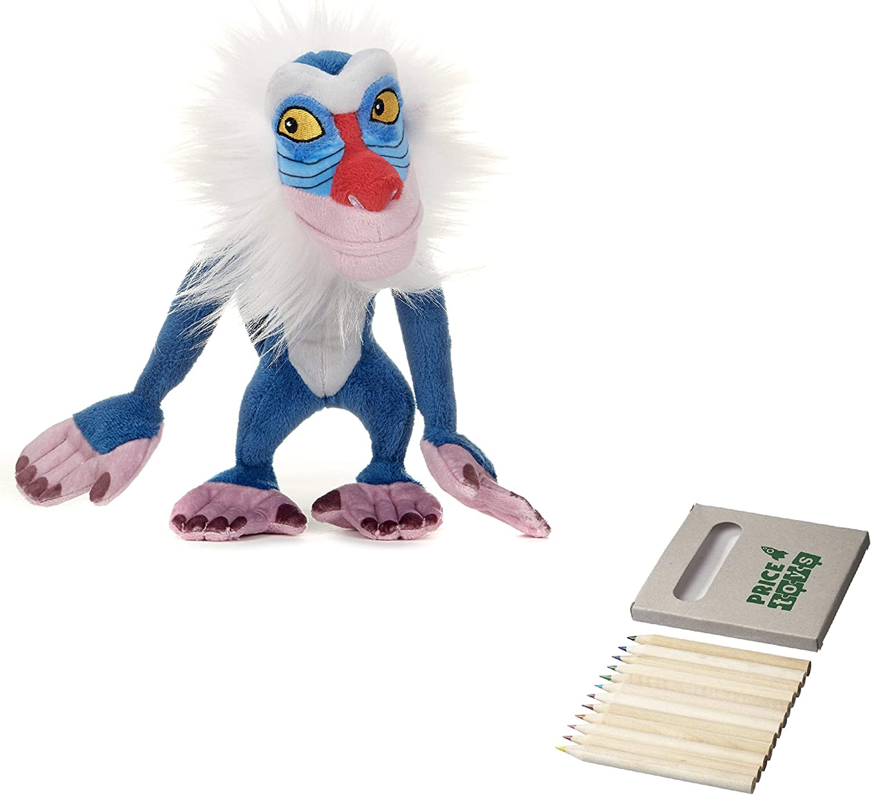 Price Toys Pumba, Rafiki, Simba o Timón Juguete Suave del león de ...