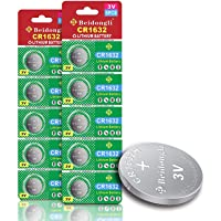 CR1632 3 Volt Lithium Coin Cell Battery (10 Batteries)【5-Years Warranty】