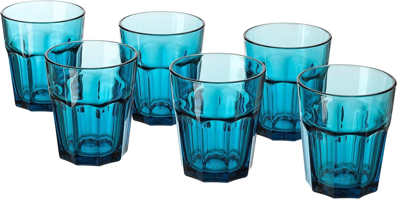POKAL 27 cl color turquesa piedras de seis vasos de se puede ...