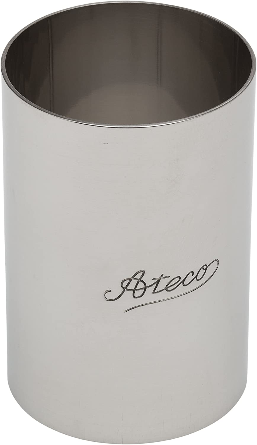 Ateco 4909 Round Stainless Steel Form, 2 by 3-Inches High