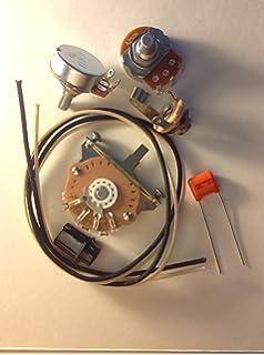 quality us spec wiring harness upgrade kit for telecaster  047uf orange  drop cap