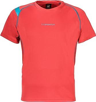 La Sportiva Motion - Camiseta Running Hombre - Rojo Talla S 2018: Amazon.es: Deportes y aire libre