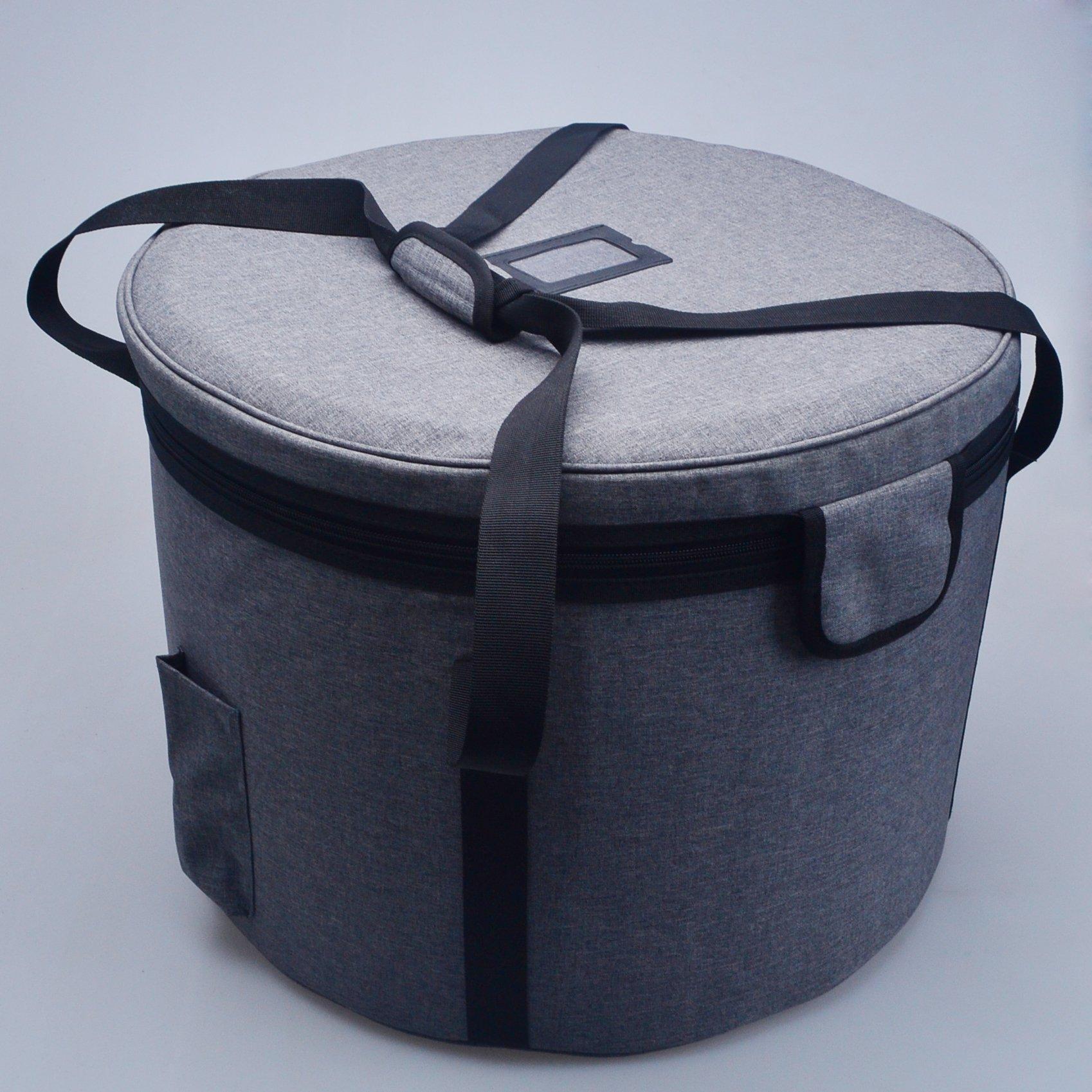 Crystal Singing Bowl Carry Case Travelling Bag For Size 10''
