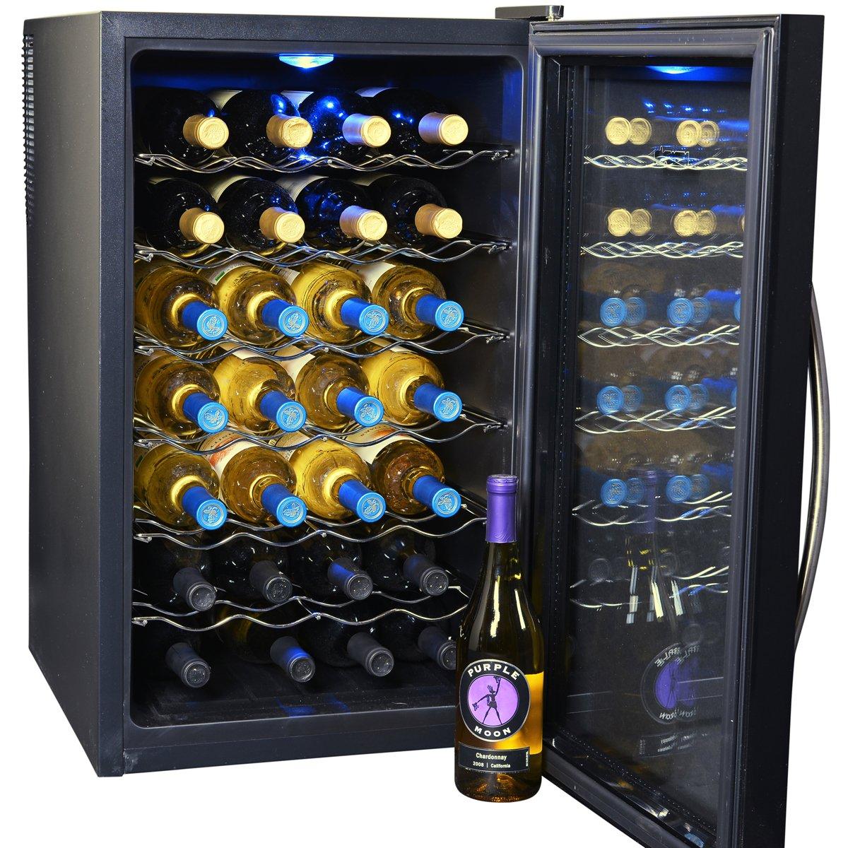 amazoncom newair aw280e 28 bottle wine cooler appliances