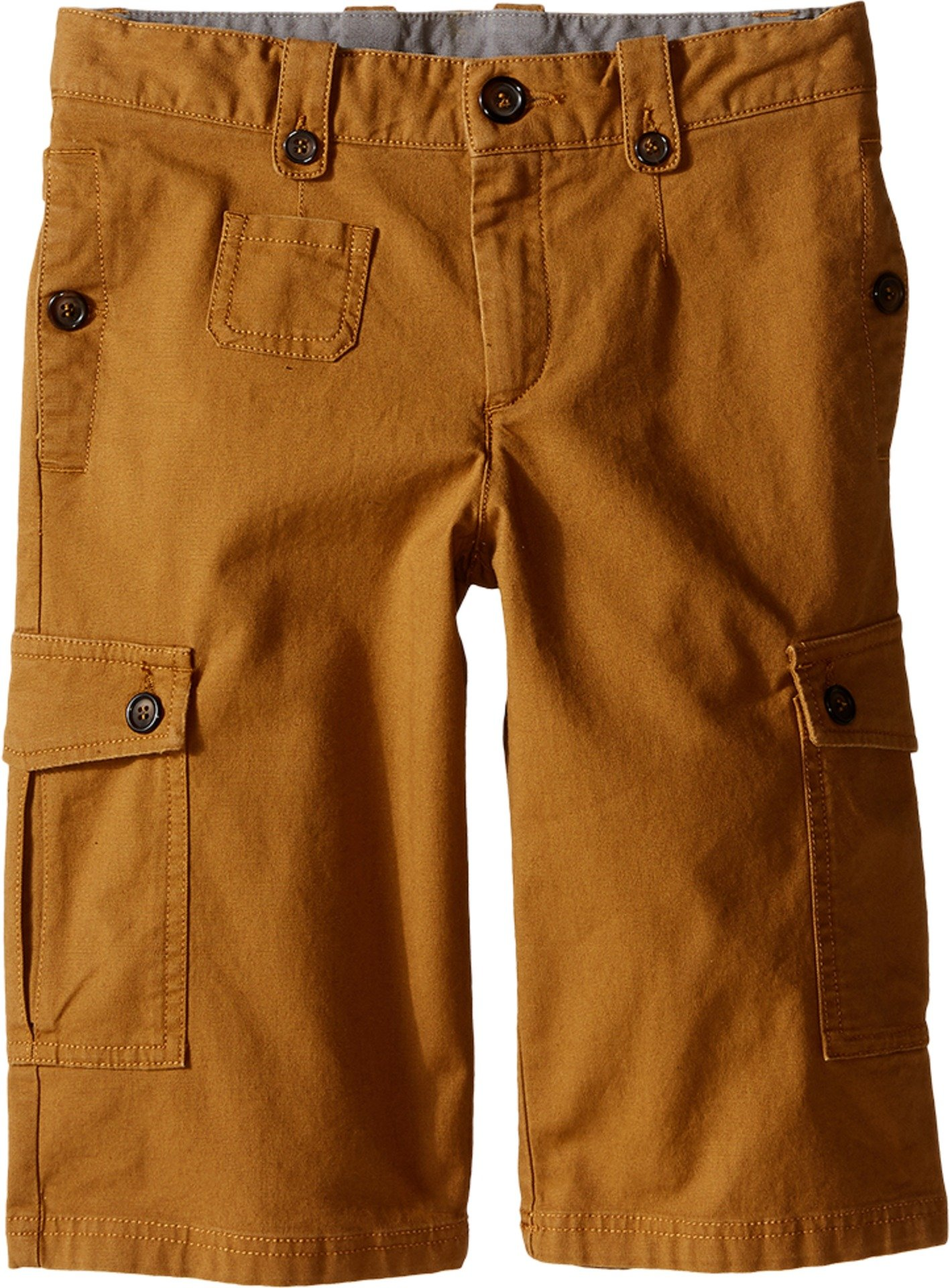 Dolce & Gabbana Kids Boy's Cargo Shorts (Big Kids) Rust Brown 8 (Big Kids) X One Size by Dolce & Gabbana