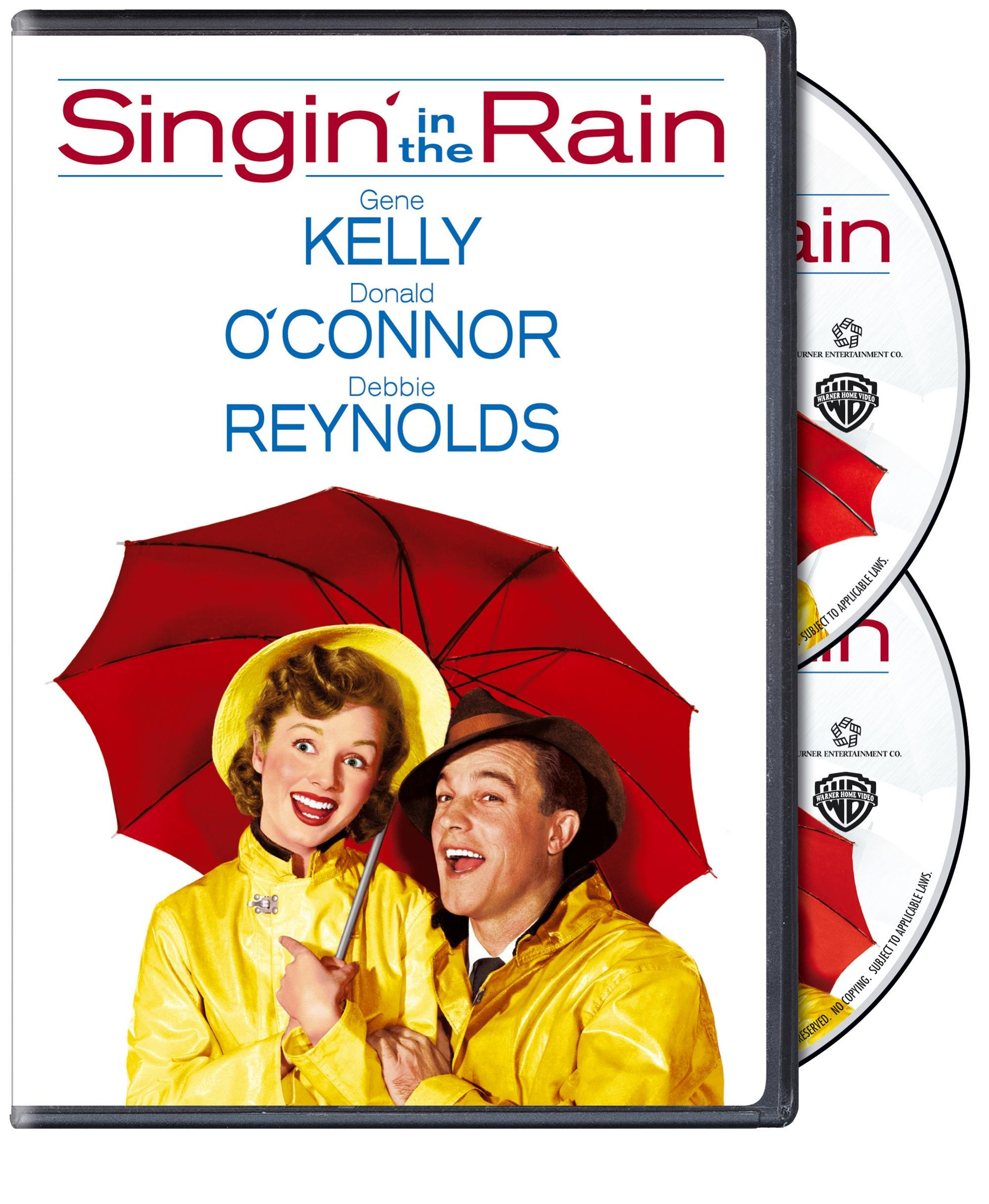 DVD : Singin' in the Rain (Anniversary Edition, Special Edition, 2 Disc)
