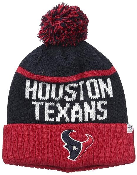 ... czech nfl houston texans 47 linesman cuff knit beanie with pom one size  32cfc dcd36 395731108