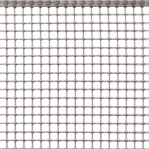 Rete Plastica Per Giardino.Rete Protettiva In Plastica A Maglia Quadrata Per Balconi