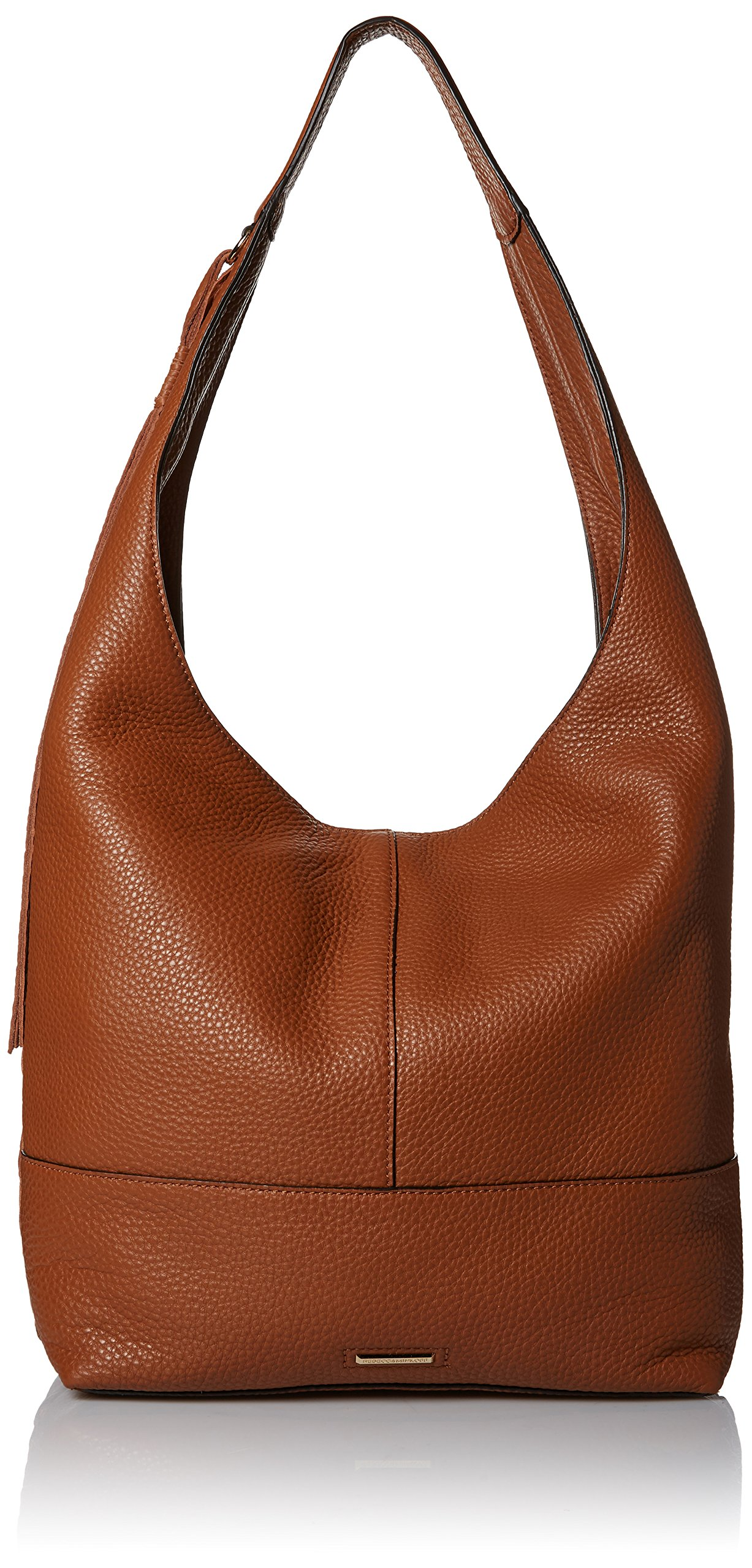 Rebecca Minkoff Unlined Slouchy Hobo with Whipstich, Almond