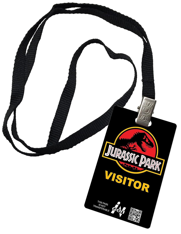 Amazon.com: Jurassic Park Visitante novedad ID Badge Prop ...