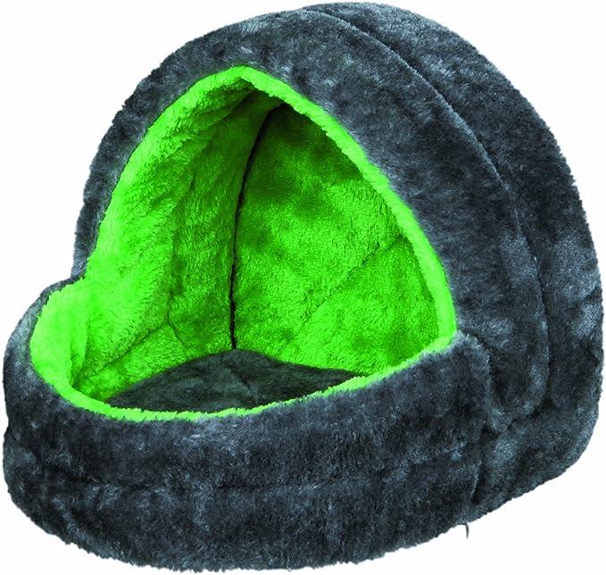 Trixie Kuschelhöhle für Kleintiere in grau/grün