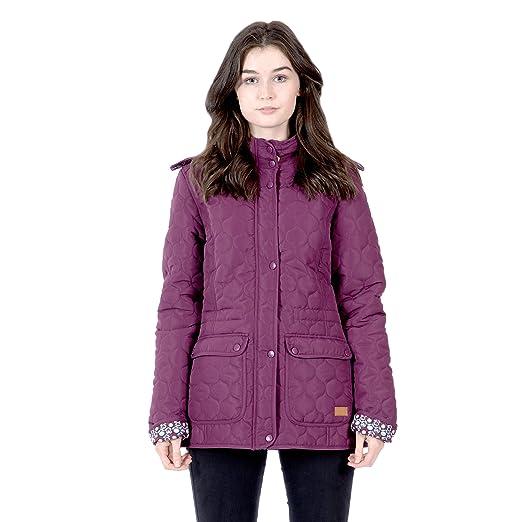 94cfab6b6989f Amazon.com  Trespass Jenna Womens Casual Parka Jacket Hooded ...