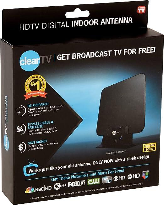 Amazon.com: Clear Tv Indoor Antenna