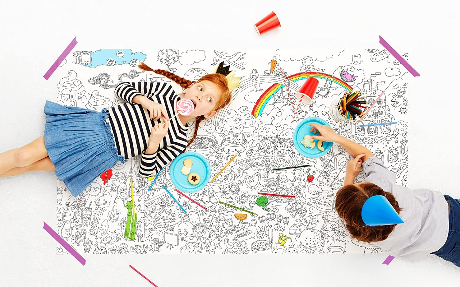 Pirasta NYC Really Big Coloring Poster 63