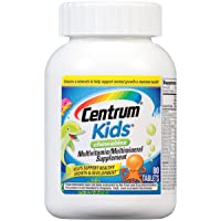 Centrum Chewable Multivitamin for Kids, Multivitamin/Multimineral Supplement with...