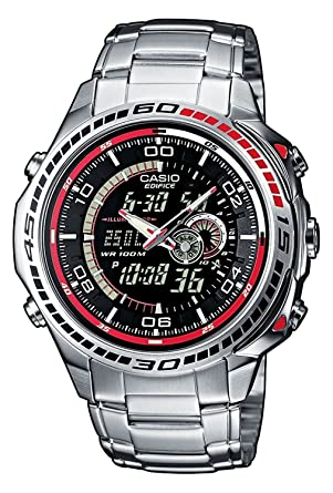 930335d2ce Amazon | [カシオ]CASIO EDIFICE 腕時計 アナデジ腕時計 EFA-121D-1AVEF ...