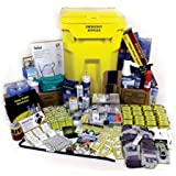 Luminary Premium Office Emergency Kit 20 Person on Wheels Shelter in Place Survival Disaster Gear for Lockdowns Natural…