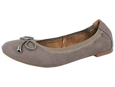 7bb93179e42 Ladies Ella Faux Leather Slip On Bow Flat Dolly Ballet Pumps Ballerina  Office Work School Shoes