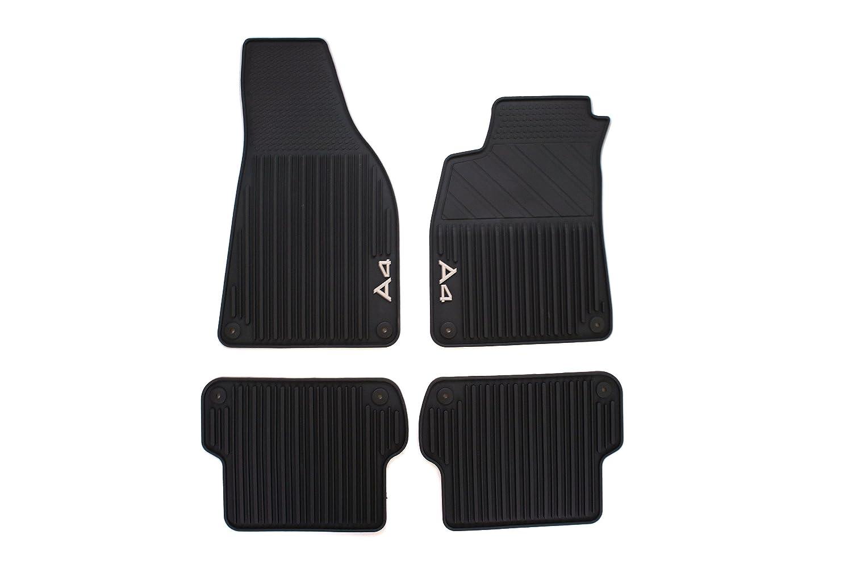 Genuine Audi Accessories 10E10 Rubber All-Weather Floor Mat, (Set of  10) | genuine audi a4 car mats