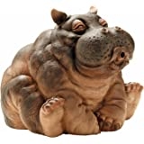 Design Toscano Hanna The Hippo Spitter Piped Statue