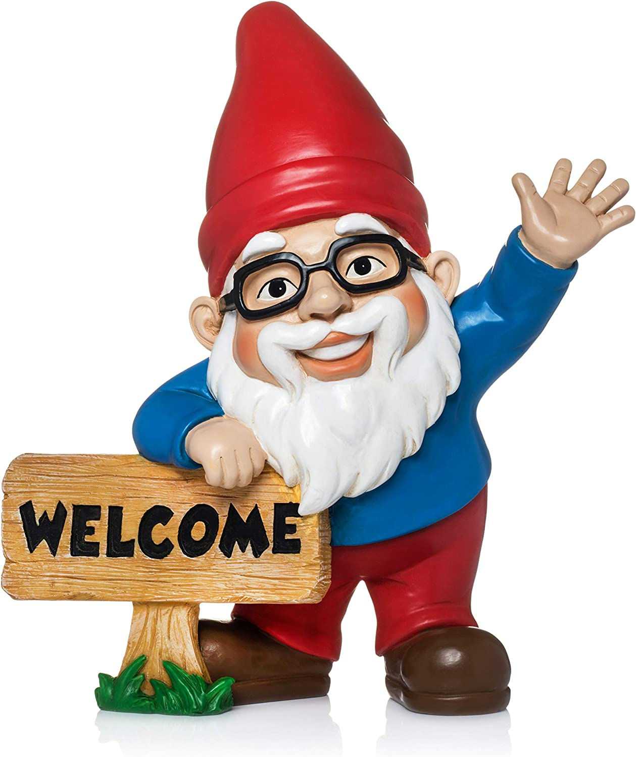 Twig & Flower Wilbur The Friendly Welcome Gnome