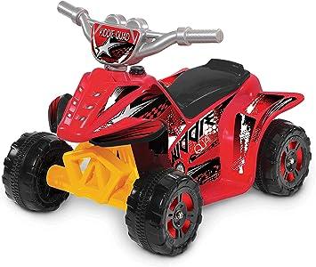 Amazon.com: Kid motorz Kiddie Quad Rojo 6 V Ride On: Toys ...