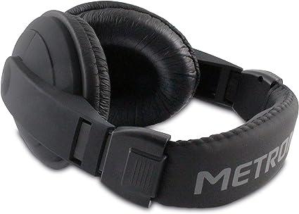 Metronic 480143 Confort Cuffie Stereo, Nero