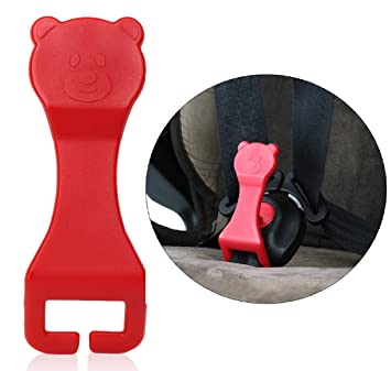Yarkor Child Car Seat Belt Unbuckler Yellow Car Seat Key Easy Buckle Release Aid for Children and Caregivers