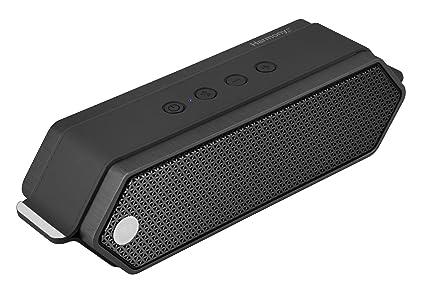 Harmony by Dreamwave USA – Altavoz portátil Bluetooth escritorio ordenador de 16 W Premium – Negro