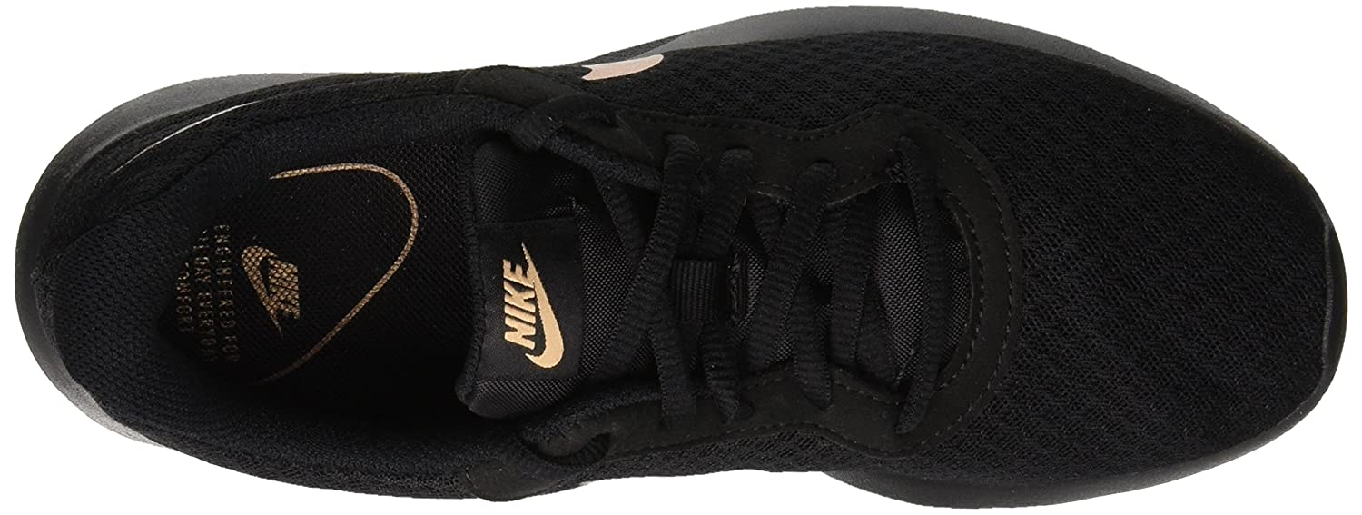 NIKE Women's Tanjun Running Shoes B00I7H8LVI 10.5 B(M) US|Black / Metallic Red Bronze