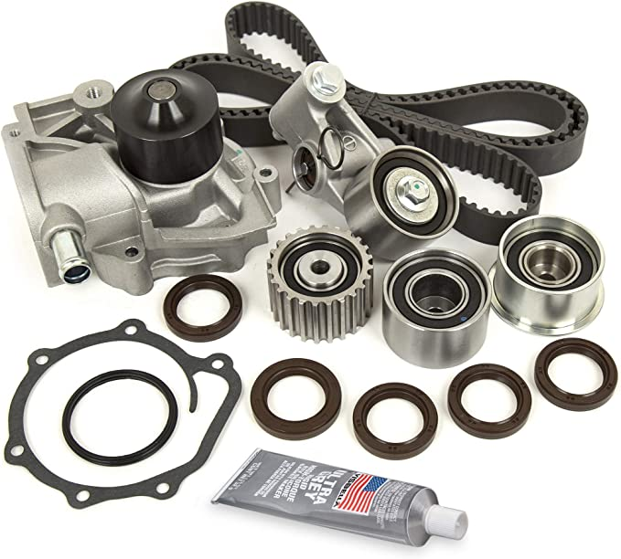Evergreen TBK172WPT Fits 03//97-98 2.2L EJ22 Subaru Impreza Legacy SOHC 16V Timing Belt Kit Water Pump