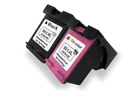 HP 301XL CH564EE - Cartucho de tinta remanufacturado para HP ...