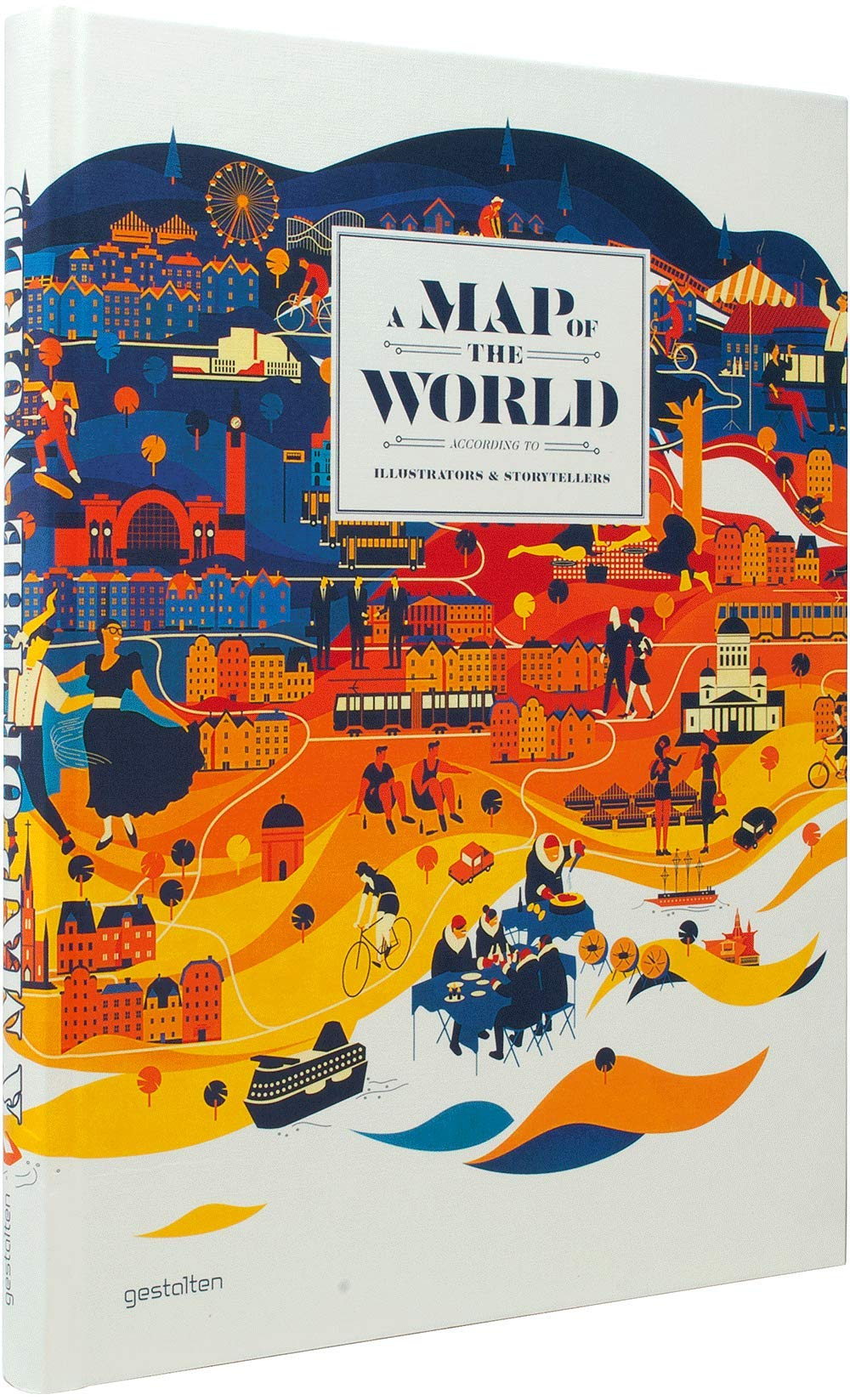 A Map Of The World According To Illustrators And Storytellers.A Map Of The World The World According To Illustrators And