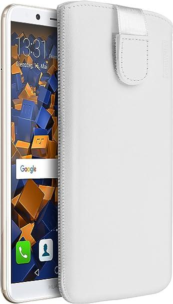 Mumbi Echt Ledertasche Kompatibel Mit Huawei P8 Hülle Elektronik