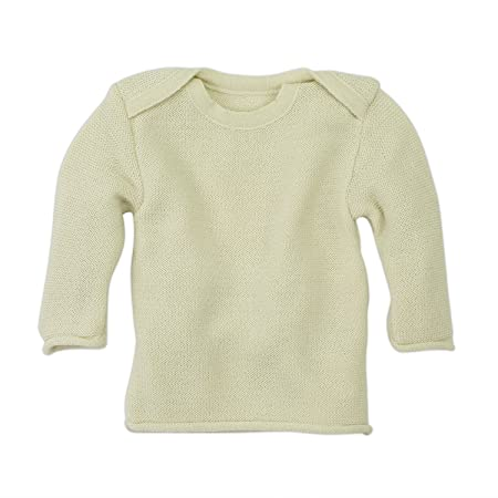 48c495e33bb0 Disana Melange Merino Wool Baby Sweater - - Large  Amazon.co.uk ...