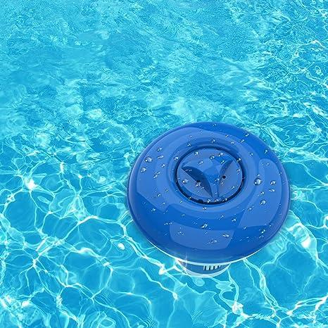 Dosierschwimmer Pool Schwimmender Chlordosierschwimmer 5//8 Zoll Chlor Dosierschwimmer Chlordosierer F/ür Pool Eruditter Chlorspender Automatisch